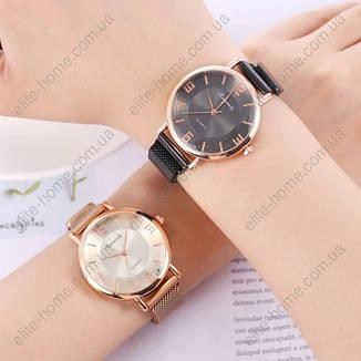 """Женские наручные часы на магнитной застежке """"Rinnandy"""" (золотистый), фото 2"""