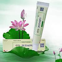 Крем ЗЮДАЙФУ ZUDAIFU (оригинал). Китайский крем для проблемной кожи от псориаза, экземы, дерматитов.