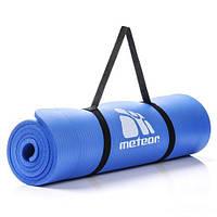 Коврик для фитнеса Meteor NBR 183х61х1 см Синий (m0067)