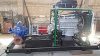 Насосная станция с дизельным приводом СНП500/10