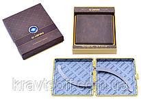 Портсигар в подарочной упаковке GVIPAI (Кожа, на 20 шт) №XT-4979-1