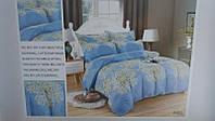 Евро комплект двухспального  постельного белья Roberto Cavalli(Роберто Кавали)