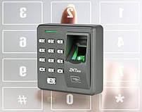 Локальная система контроля доступа по отпечатку пальца ZKTeco X7