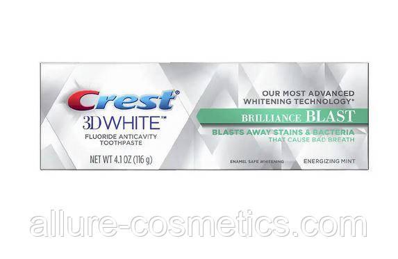 Отбеливающая зубная паста Crest 3D White Brilliance Blast Whitening Toothpaste Energizing Mint