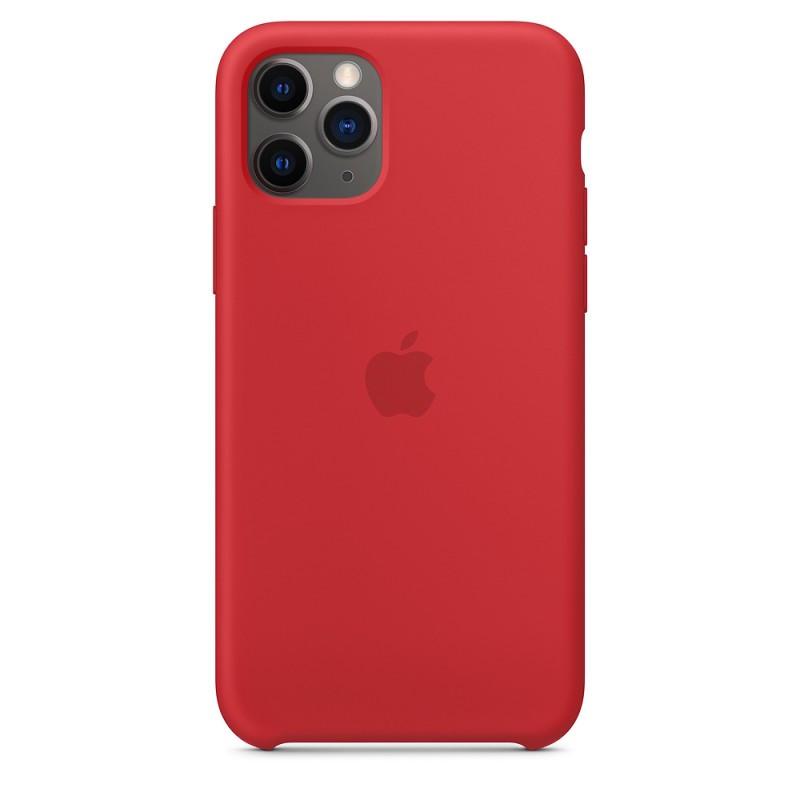 Armor Standart Silicone Case чехол для iPhone 11 Pro Max - Red