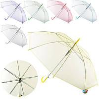 Зонт детский трость, цвета разные
