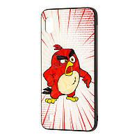 "Чехол для Samsung Galaxy A10 (A105) Prism ""Angry Birds"" Red"