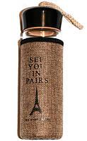 """Бутылка дизайнерская """"See You in Paris"""" 420ml"""