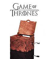 "Музыкальная шкатулка ""Game of Thrones - Игра Престолов"" (Махагони)"