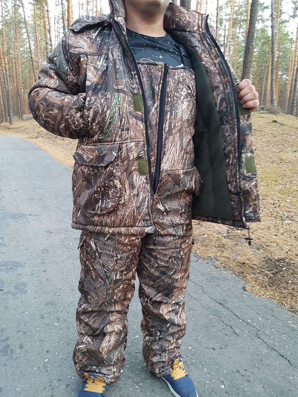 Зимний  костюм для рыбалки и охоты   Нива из ткани Дюспобондинг  усиленный   Супер качество !!!!