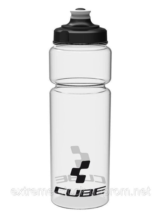 Фляга Cube, 750 ml, полупрозрачная
