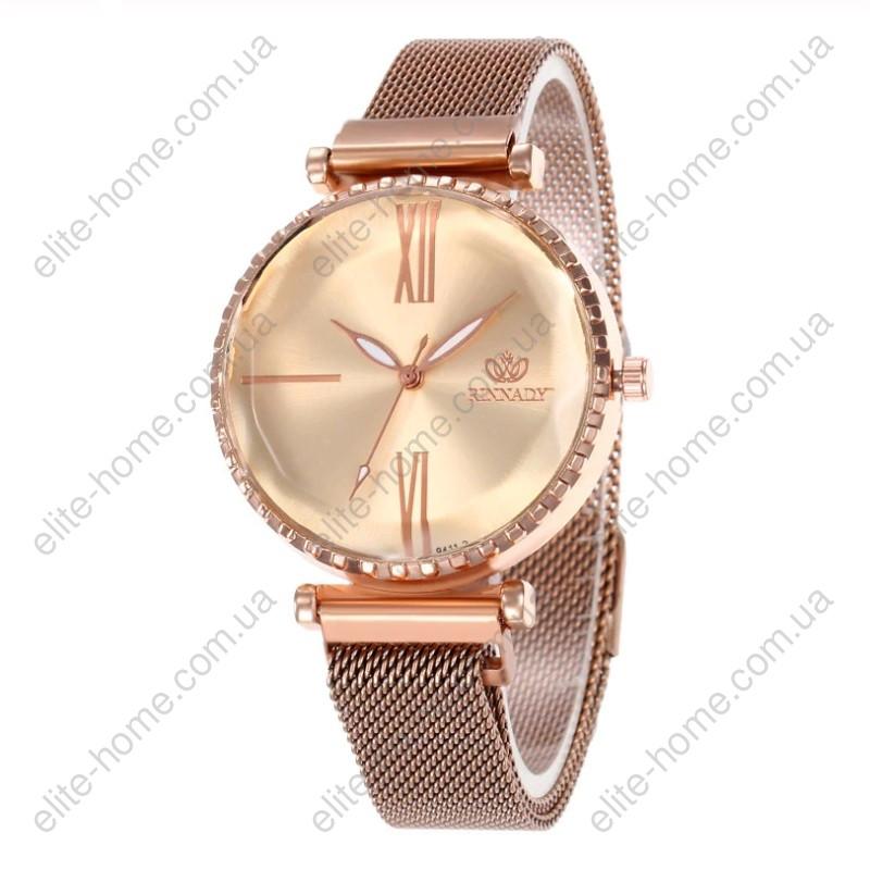 """Женские наручные часы на магнитной застежке """"Rinnady"""" (золотистый)"""