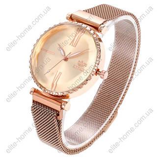 """Женские наручные часы на магнитной застежке """"Rinnady"""" (золотистый), фото 2"""