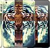 "Чехол на iPad 5 (Air) Злой тигр ""866c-26"""