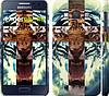 """Чехол на Samsung Galaxy A3 A300H Злой тигр """"866c-72"""""""