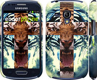 "Чехол на Samsung Galaxy S3 mini Злой тигр ""866c-31"""