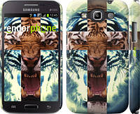 "Чехол на Samsung Galaxy Win i8552 Злой тигр ""866c-51"""