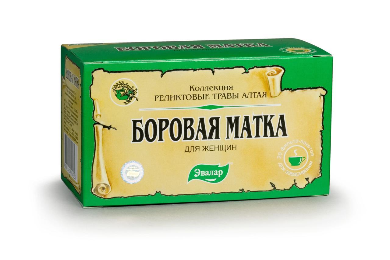 Боровая матка чай Эвалар ф/п 2г №20