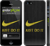 "Чехол на iPhone 5 Nike 3 ""448c-18"""