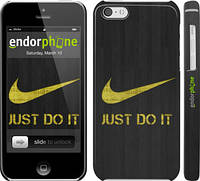 "Чехол на iPhone 5c Nike 3 ""448c-23"""