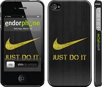 "Чехол на iPhone 4 Nike 3 ""448c-15"""