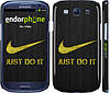 "Чехол на Samsung Galaxy S3 Duos I9300i Nike 3 ""448c-50"""