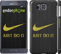 """Чехол на Samsung Galaxy Alpha G850F Nike 3 """"448c-65"""""""