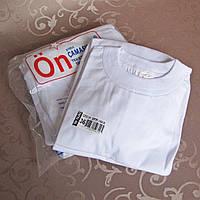 Футболка белая ПО РАЗМЕРАМ - 6 шт. Турция.  Купить майки, футболки. , фото 1