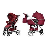 Коляска для новорожденных 2 в 1 Carrello Vista CRL-6501 Ruby Red
