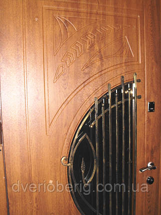 Входная дверь модель П5 34 vinorit-90 КОВКА, фото 2