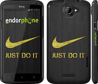 "Чехол на HTC One X Nike 3 ""448c-42"""