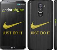 """Чехол на LG G2 Nike 3 """"448c-37"""""""