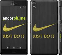 "Чехол на Sony Xperia Z3 D6603 Nike 3 ""448c-58"""