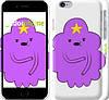 "Чехол на iPhone 6 Принцесса Пупырка. Adventure Time. Lumpy Space Princess v2 ""1221c-45"""