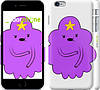 "Чехол на iPhone 6 Plus Принцесса Пупырка. Adventure Time. Lumpy Space Princess v2 ""1221c-48"""