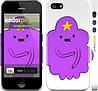 "Чехол на iPhone 5 Принцесса Пупырка. Adventure Time. Lumpy Space Princess v2 ""1221c-18"""