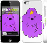 "Чехол на iPhone 5c Принцесса Пупырка. Adventure Time. Lumpy Space Princess v2 ""1221c-23"""
