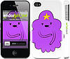 "Чехол на iPhone 4s Принцесса Пупырка. Adventure Time. Lumpy Space Princess v2 ""1221c-12"""