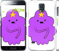 "Чехол на Samsung Galaxy S5 Duos SM G900FD Принцесса Пупырка. Adventure Time. Lumpy Space Princess v2 ""1221c-62"""