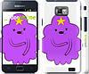 "Чехол на Samsung Galaxy S2 i9100 Принцесса Пупырка. Adventure Time. Lumpy Space Princess v2 ""1221c-14"""