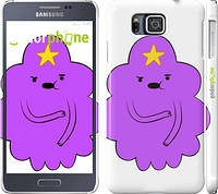 "Чехол на Samsung Galaxy Alpha G850F Принцесса Пупырка. Adventure Time. Lumpy Space Princess v2 ""1221c-65"""