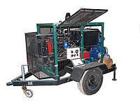 Мотопомпа, Насосная станция с дизельным приводом АНД320-50
