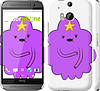 "Чехол на HTC One M8 Принцесса Пупырка. Adventure Time. Lumpy Space Princess v2 ""1221c-30"""