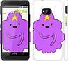 "Чехол на HTC One M7 Принцесса Пупырка. Adventure Time. Lumpy Space Princess v2 ""1221c-36"""