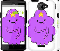 "Чехол на HTC One X+ Принцесса Пупырка. Adventure Time. Lumpy Space Princess v2 ""1221c-69"""