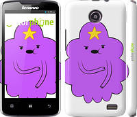 "Чехол на Lenovo A820 Принцесса Пупырка. Adventure Time. Lumpy Space Princess v2 ""1221c-68"""