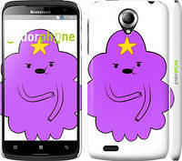 "Чехол на Lenovo S820 Принцесса Пупырка. Adventure Time. Lumpy Space Princess v2 ""1221c-52"""