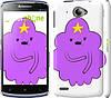 "Чехол на Lenovo S920 Принцесса Пупырка. Adventure Time. Lumpy Space Princess v2 ""1221c-53"""