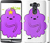 "Чехол на LG G3 D855 Принцесса Пупырка. Adventure Time. Lumpy Space Princess v2 ""1221c-47"""