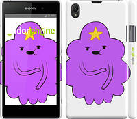 "Чехол на Sony Xperia Z1 C6902 Принцесса Пупырка. Adventure Time. Lumpy Space Princess v2 ""1221c-38"""